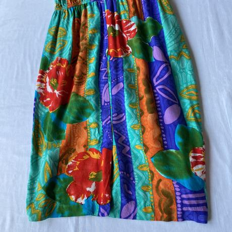 Made in USA colorful resort dress
