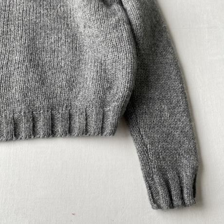 Nordic zip up knit