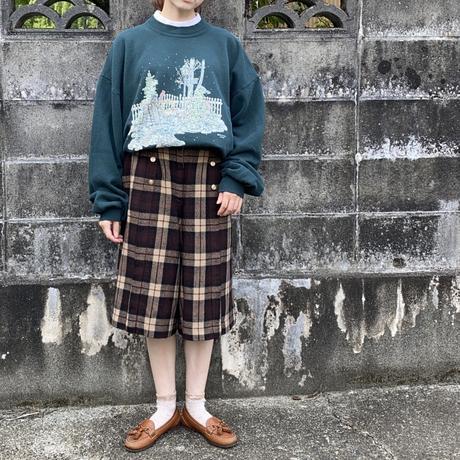 Plaid half pants