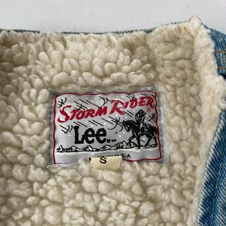 Made in USA 80s LEE storm rider