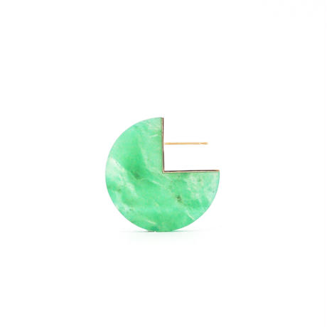 SLICE PAC EARRING クリソプレーズ01[片耳/一点もの]
