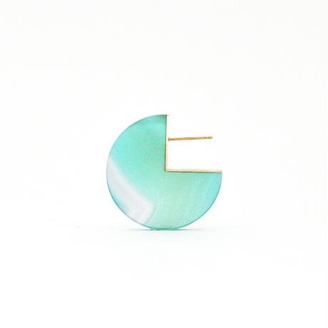 SLICE PAC EARRING メノウ01[片耳/一点もの]