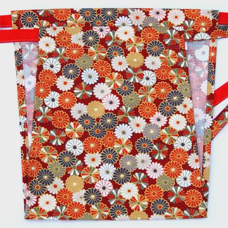 【清姫】 Lady's KIYOHIME chrysanthemum_RED 清姫 菊の紋(赤色)(KI-001R)