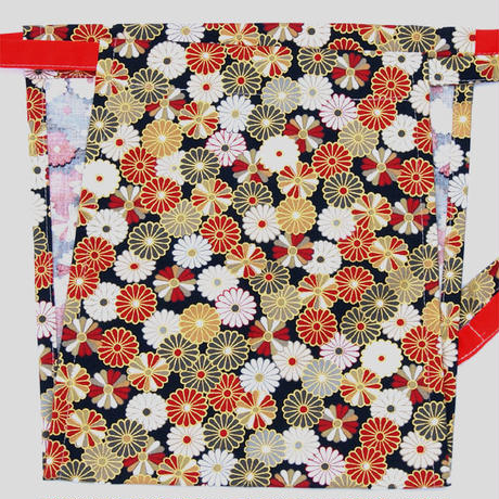 【清姫】 Lady's KIYOHIME chrysanthemum_BLACK 清姫 菊の紋(黒色)(KI-001B)