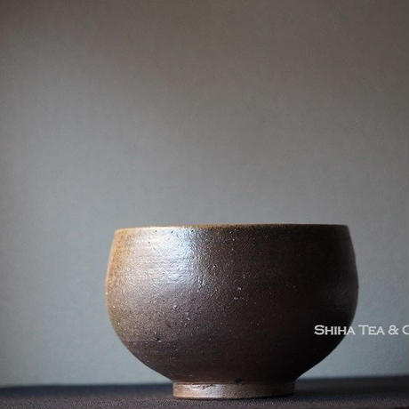 備前安藤騎虎柴焼泡茶碗 KIKO ANDO Bize Tea Brewing Bowl