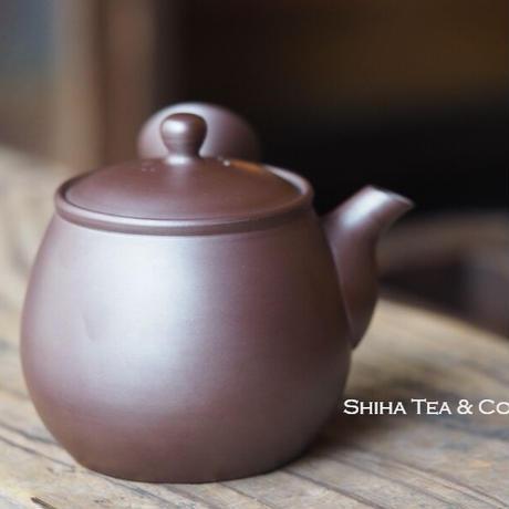 BANKO Purple Clay RIGETSU Teapot 万古利月