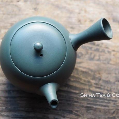 Hakusan Green Teapot 白山緑色急須