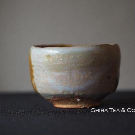 The 13th Takatori Hassen 高取八仙 Tea cup, Guinomi Japanese Takatoriyaki