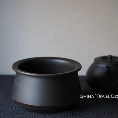 Water Drain Bowl for Tea Ceremony Kensui Shuiyu, Reiko, Hiroshi Koie, Tokoname