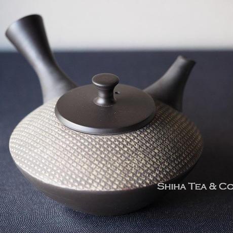 秋峰算珠茶壺急須 SHUHO Black Clay Teapot Kyusu