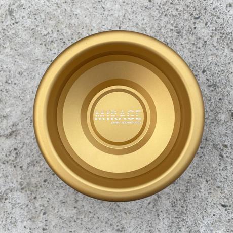 MIRAGE / Matte Gold