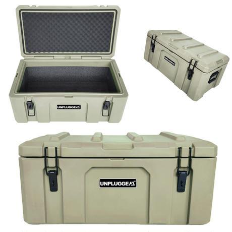 予約 6月上旬 耐荷重90kg 防水 保証180日 50L ツールボックス DIG (ディグ) アンプラグドキャンプ UNPLUGGED CP