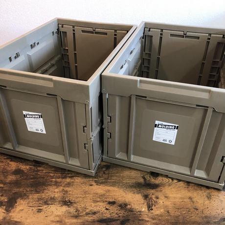 【BRID様取扱い開始!】MOLDING  CONTAINER BOX モールディング コンテナボックス L 50L  サンド 1個
