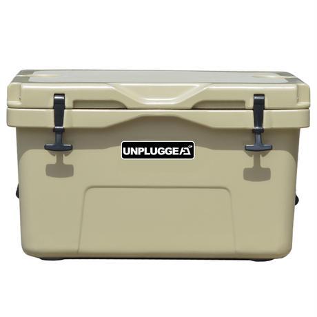 UNPLUGGED CAMP アンプラグドキャンプ オリジナルクーラーボックス CHILL 45 QT