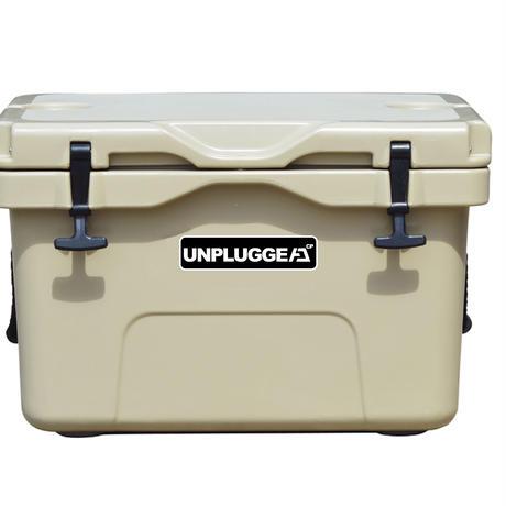 UNPLUGGED CP アンプラグドキャンプ オリジナルクーラーボックス CHILL 35 QT タン サンドベージュ