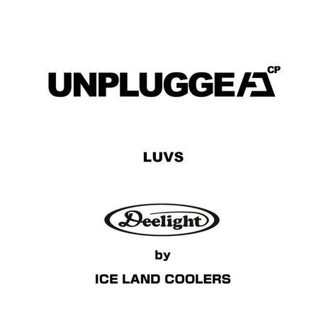 アンプラグドキャンプ×アイスランドクーラー Deelight コラボ  4WAY アイスバケツジャグクーラー 2.5ガロン