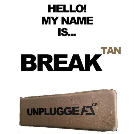 インフレーターマット アンプラグドキャンプ BREAK ブレイク 2色展開 コヨーテタン