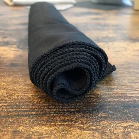 2種デザイン アンプラグドキャンプ オリジナル ブラック アイスクールタオル 1枚【最短当日出荷 ネコポス出荷】