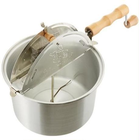 アルミ製ポップコーンポッパー(ポップコーンメーカー) Whirley Pop《日本ポップコーン協会監修の特別レシピ付き》
