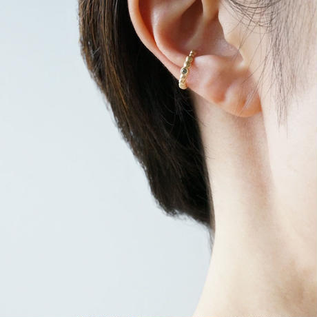 K18 Tsubu ear_cuff / Diamond