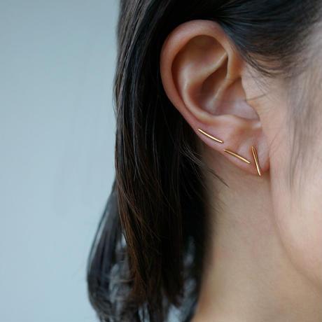 K18 Bow earring   *Single