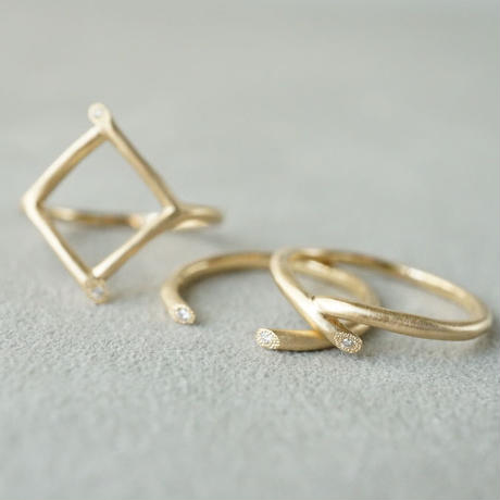 K18 Twig ring / Open