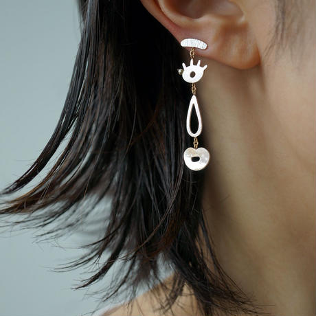 Face earring  *Single / Right