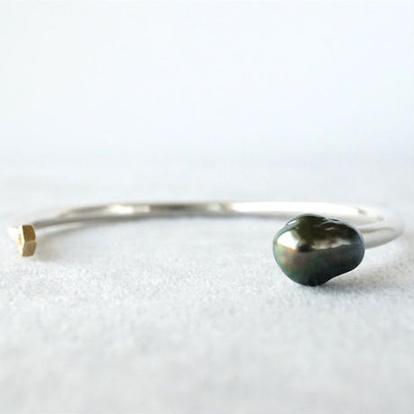 Tahitian pearl Bangle / Polygon / Dia