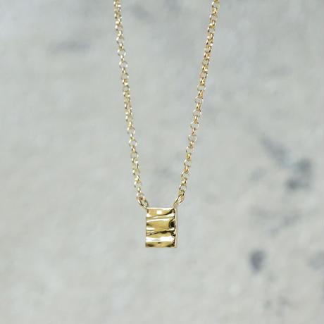 K18 Plate necklace
