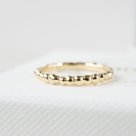 K18 Tsubu ring
