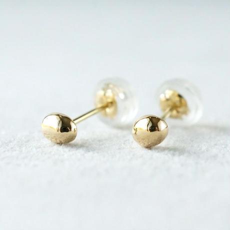 K18 Tsubu earrings