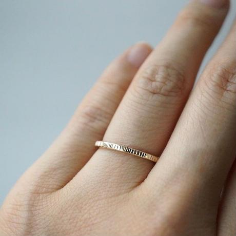 K10 Striped ring