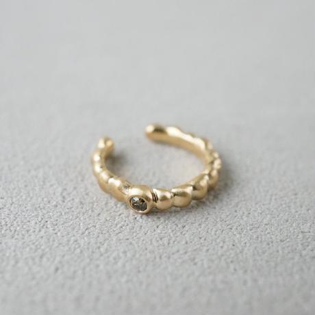 K18 Tsubu ear_cuff / Diamond