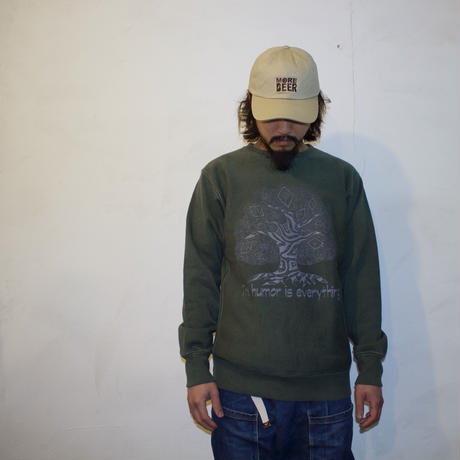 "JAVARA ""HUMOR TREE"" CREW NECK SWEAT"
