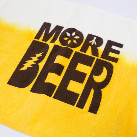 MORE BEER TIE DYE FACE TOWEL(フェイスタオル)