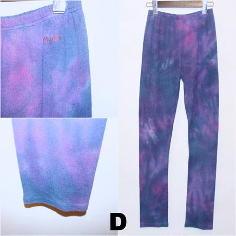 "A HOPE HEMP ""TIE DYE LEGGINS"""