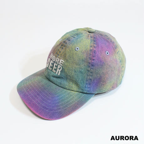MORE BEER「CLASSIC LOGO TIE DYE LOW CAP」