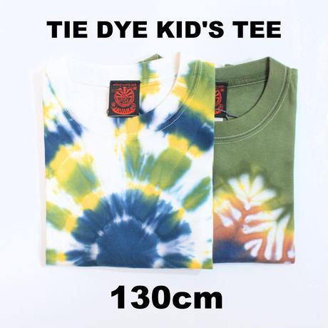 JAVARA「TIE DYE KID'S TEE (130cm)」