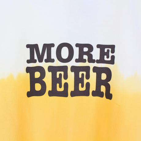 MORE BEER「BIG LOGO TEE(BEER COLOR)」