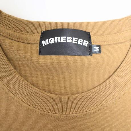 MORE BEER × Lock「MONSTER TEE(CAMEL)」