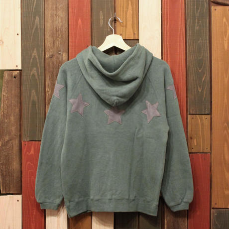 "JAVARA ""STAR CIRCLE"" PARKA (ash green)"