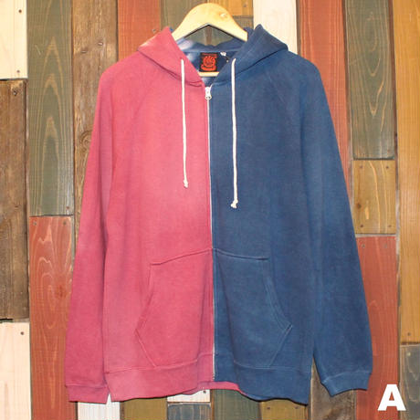 "JAVARA ""HEMP/COTTON ZIP PARKER"" (Msize)"