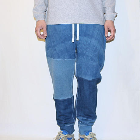 "JAVARA ""PATCHWORK SWEAT PANTS""#1"