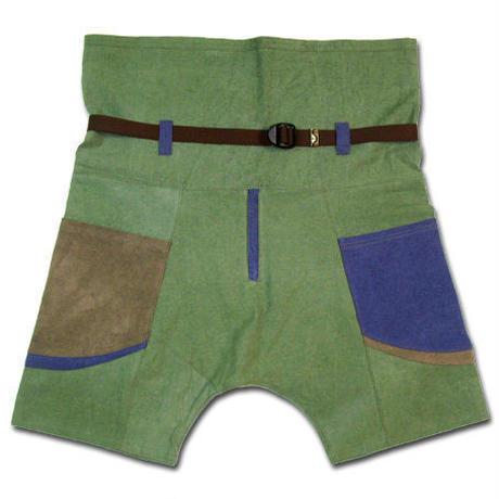 """JAVARA """"ORGANIC HEMP THAISHORTS"""" (green)"""
