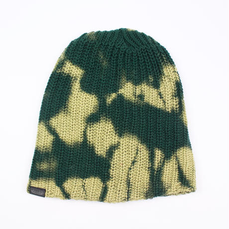 JAVARA「TIE DYE SABOTAGE CAP(GREEN)」