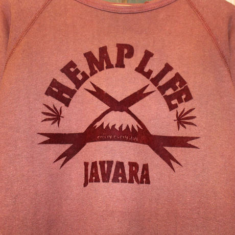 "JAVARA ""HEMP LIFE"" (ORANGE RED)"