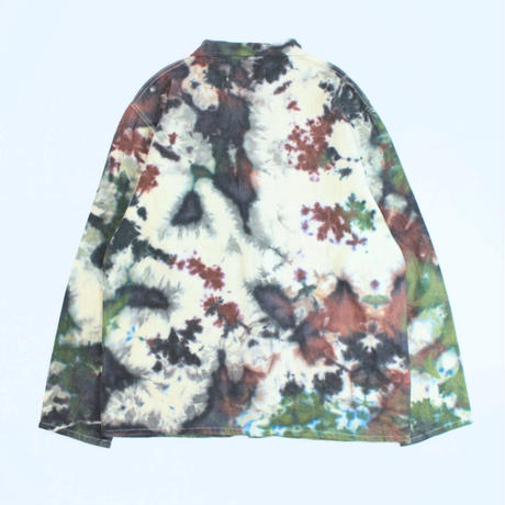 A HOPE HEMP × JAVARA「CAMO FLY FRONT SHIRTS JKT」