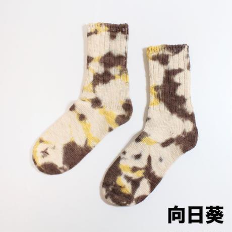 NASNGWAM. × JAVARA「TIE DYE HEMP SOCKS BASIC丈」