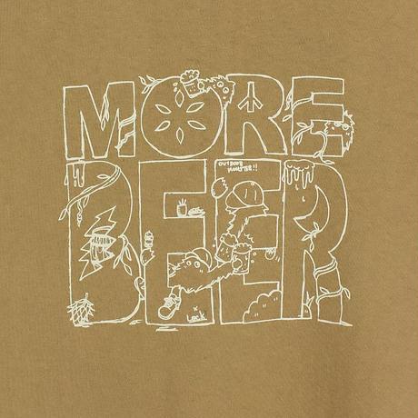 Lock × MORE BEER「MONSTER TEE(CAMEL)」