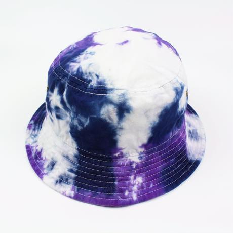 JAVARA「TIE DYE LOGO BUCKET HAT」